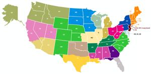 Acute Care Sales Map
